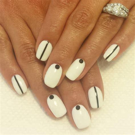 To Trendy White 27 white and black nail designs ideas design