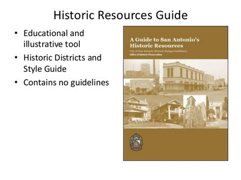 design guidelines for local historic districts city of san antonio historic design guidelines