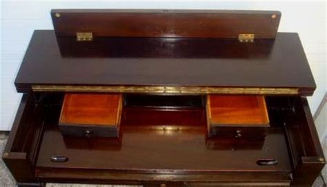 nicole wood interiors sold vintage fold top desk wpullout writing shelf