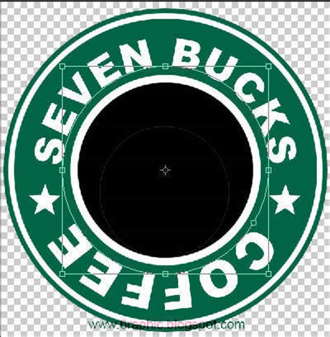 membuat logo vintage di photoshop tutorial cara membuat logo starbucks 2 belajar photoshop