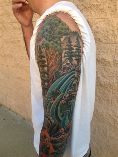 nature outdoor sleeve