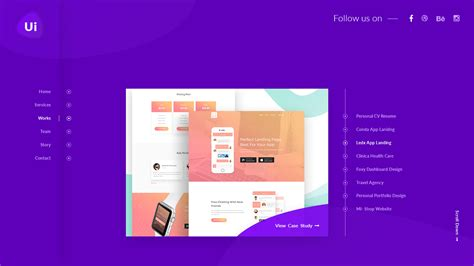 design studio templates design studio creative agency sketch template by uicafe