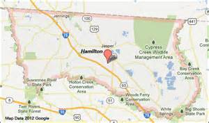 hamilton county florida map