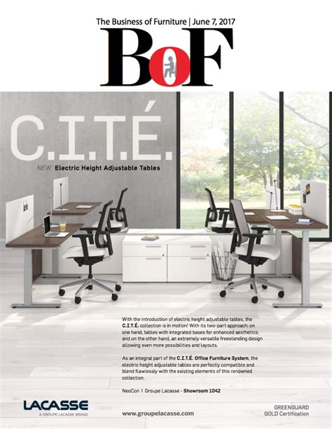 furniture magazines see the new legacy collection in the business of furniture