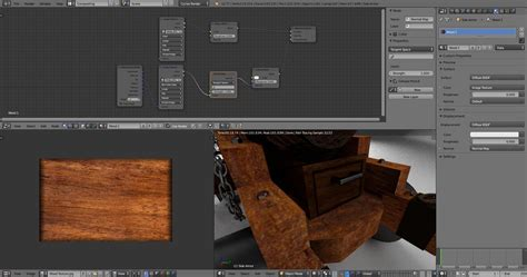 wood pattern blender cycles texturing how to produce realistic wood material