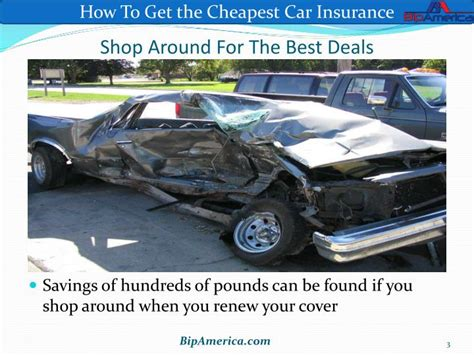 PPT   How To Get the Cheapest Car Insurance PowerPoint