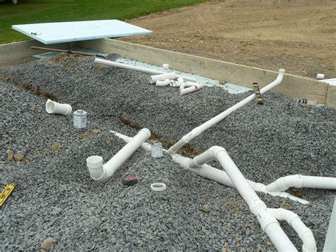 Plumbing Cement by Bathroom Plumbing Diagram Concrete Slab Bathroom Trends