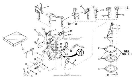 tecumseh carburetor parts diagram tecumseh ca 631139 parts diagram for carburetor