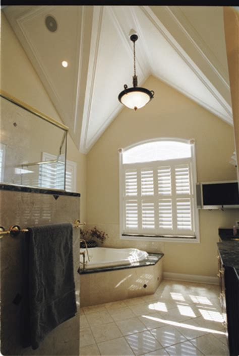 Bathroom Vaulted Ceiling Lights Photo Tour Donald A Gardner Architects Inc The