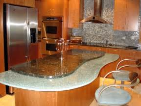 unique kitchen island design country white island 30 unique kitchen countertops of different materials