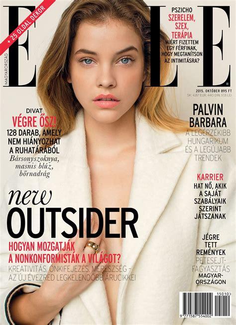 2015 w magazine cover october barbara palvin elle magazine hungary october 2015 cover