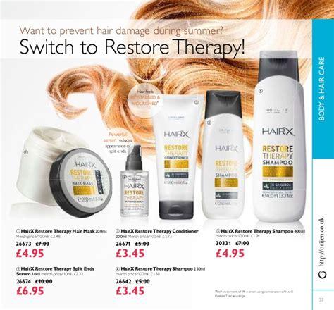 26642 Hairx Restore Therapy Shoo oriflame catalogue 10 uk ireland 2015 buy at http orijen co uk