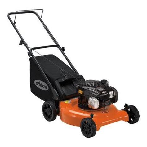 ariens 21 in 140 cc push gas walk lawn mower