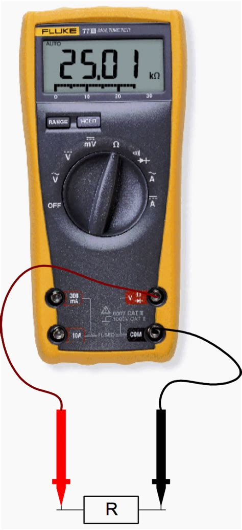 how to test a resistor with digital multimeter basic measuring of resistance voltage and current using digital multimeter