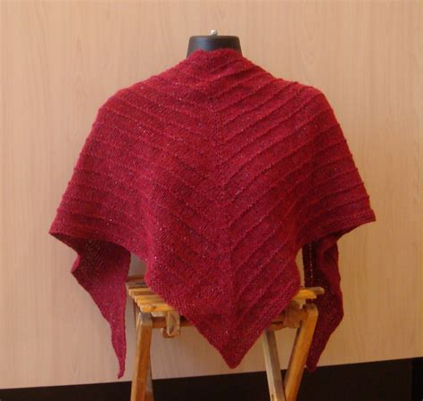 pattern for triangle shawl kate atherley knits a lot mainly socks free pattern