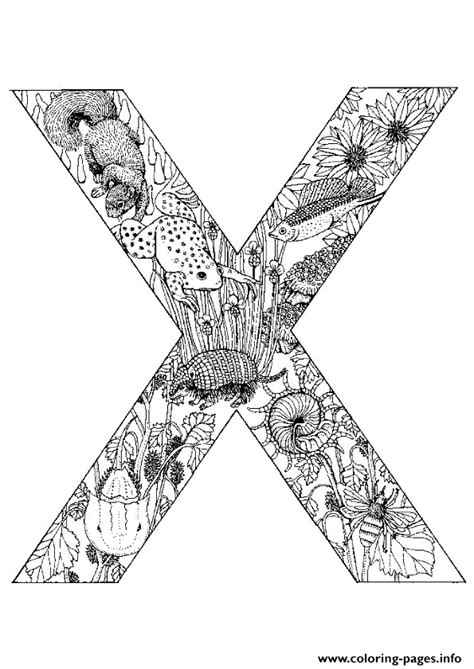 printable letter y book animal alphabet letter x coloring pages printable