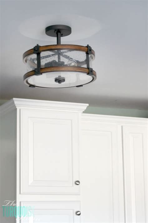 kitchen flush mount lighting farm style light fixtures galley kitchen lighting ideas