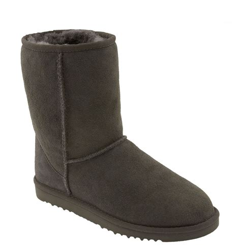 ugg classic boot in gray grey lyst