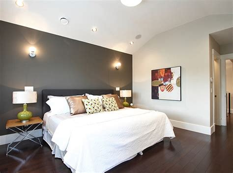 Bedroom Accent Wall Grey Bedroom Accent Walls To Keep Boredom Away