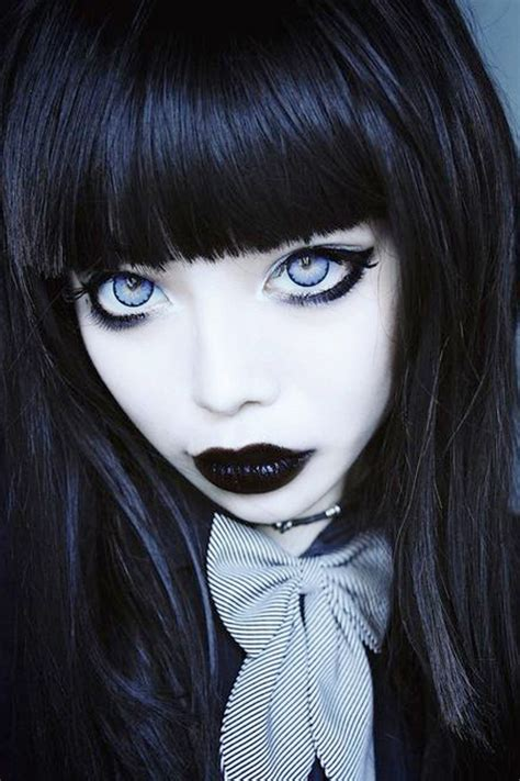 imagenes goticas tetricas tips para conseguir un maquillaje g 243 tico de halloween