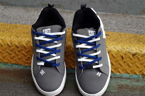 Ez Ties Shoelaces Tancho White easy tie shoelaces purchase your dual colored shoelaces here