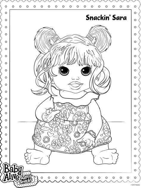 baby alive coloring pages baby alive coloring pages printable coloring pages