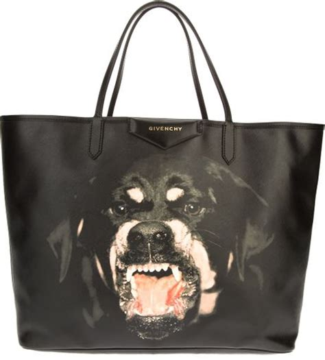 givenchy rottweiler bag givenchy rottweiler tote bag in black lyst