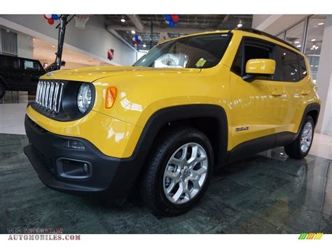 jeep yellow 2017 2017 jeep renegade latitude in solar yellow f27914 all