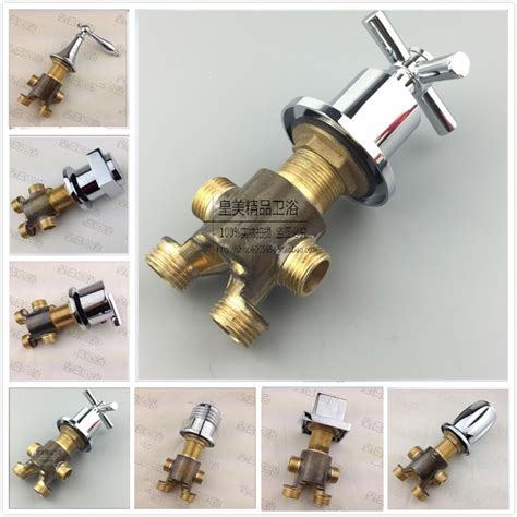 bathtub diverter valve free shipping brass switch mixer valve for bathtub