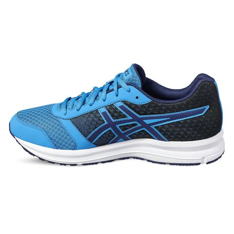 running sneaker asics patriot 8 mens running shoes