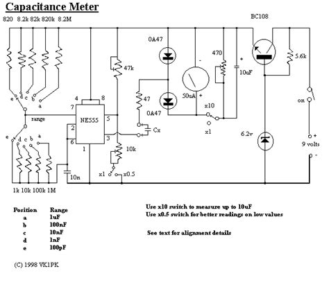 capacitor in rf circuit gt meter counter gt meters gt field crystals and capacitance meters schematics l8127 next gr