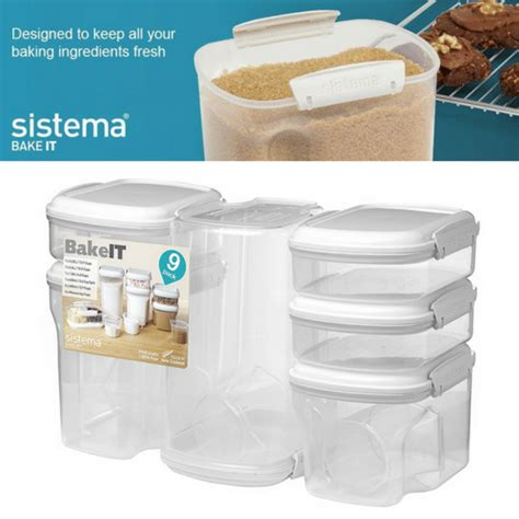 baking containers storage best price ever great ratings amazon set of 9 baking