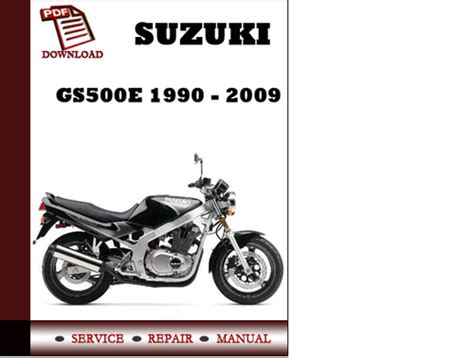 small engine repair manuals free download 2008 suzuki xl7 interior lighting suzuki gs500e 1990 2009 workshop service repair manual pdf downlo