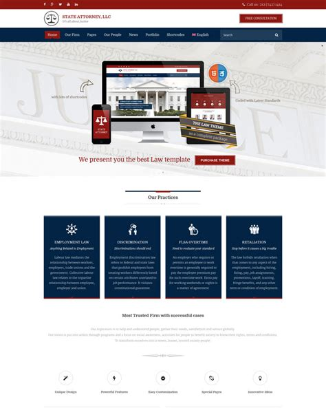 blogger templates for lawyers 10 most excellent attorney and lawyer wordpress themes
