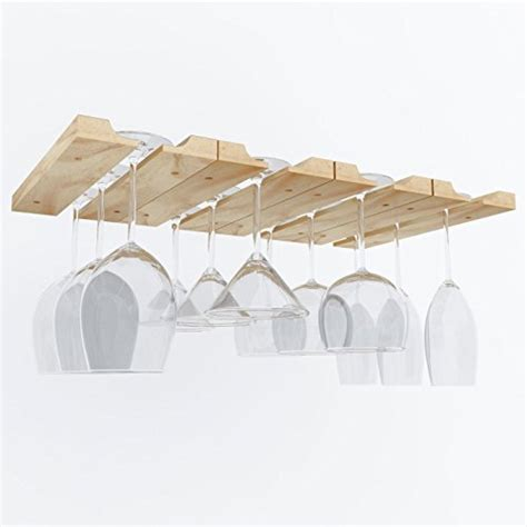 large under cabinet stemware rack top 10 most wished products in stemware racks april 2016