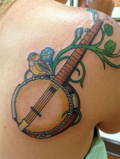 banjo tattoo pin by jason sinacori on tattoos