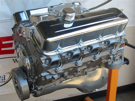chevy crate engines chevy 454 450 hp high performance balanced crate engine