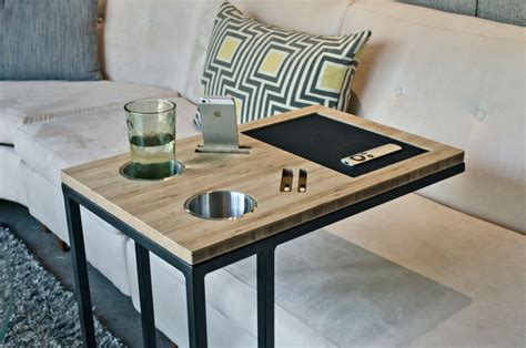 sofa tv table your sofa s best friend caddy table digsdigs