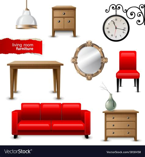 Free Living Room Furniture - living room furniture royalty free vector image