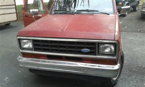 service manual old car owners manuals 1984 ford bronco ii interior lighting 1984 ford bronco