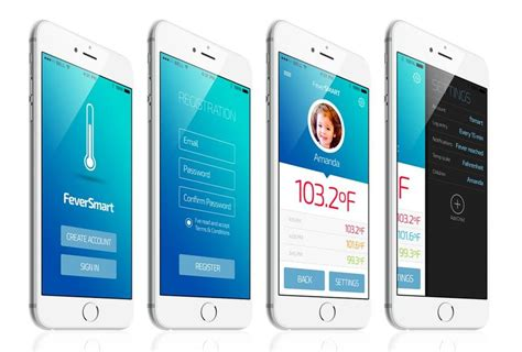 smart thermometer apps thermometer app
