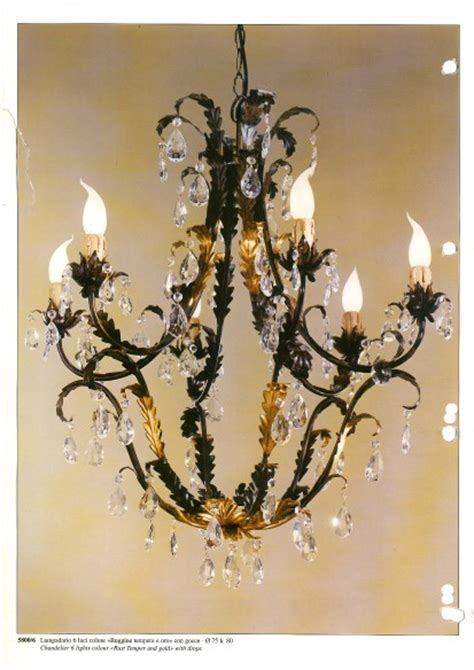 kronleuchter schwarz gold passeri international black gold chandelier with 6 lights