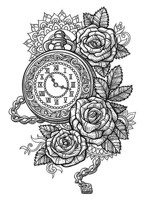 imagenes de mandalas antiguos dibujos de relojes antiguos tatuajes