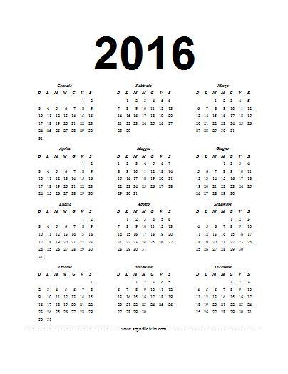 I Calendario 2016 Pdf Calendario In Pdf 2016