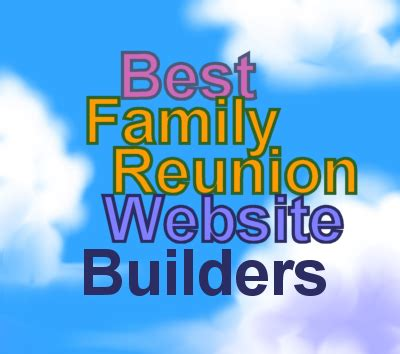 Free Family Reunion Templates Free Family Reunion Website Template