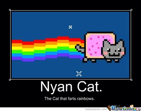 Nyan Meme - pin nyan cat wallpaper windows 7 on pinterest