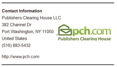 Publisher Clearing House Address - publishers clearing house review scam sweepstakes or real winners surveysatrap
