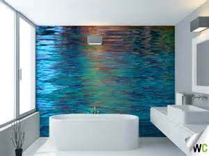 water reflections wall mural ideal for the bathroom 14 beautiful wall murals design for your dream bathroom