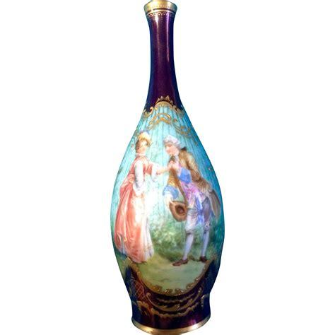 rosenthal vase rosenthal bud vase painted0699
