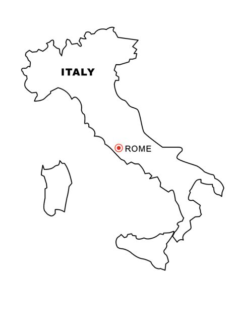 coloring page italy italy coloring pages coloring home